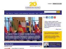 European Agency For Special Needs And Inclusive Education S/I