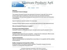 SCANWARE PRODUCTS ApS